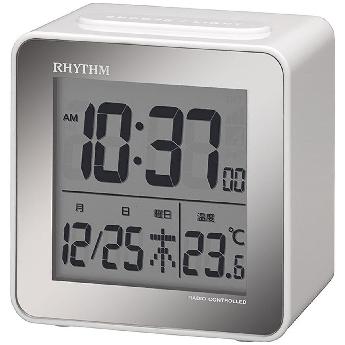 リズム デジタル時計 フィットウェーブD158 8RZ158SR