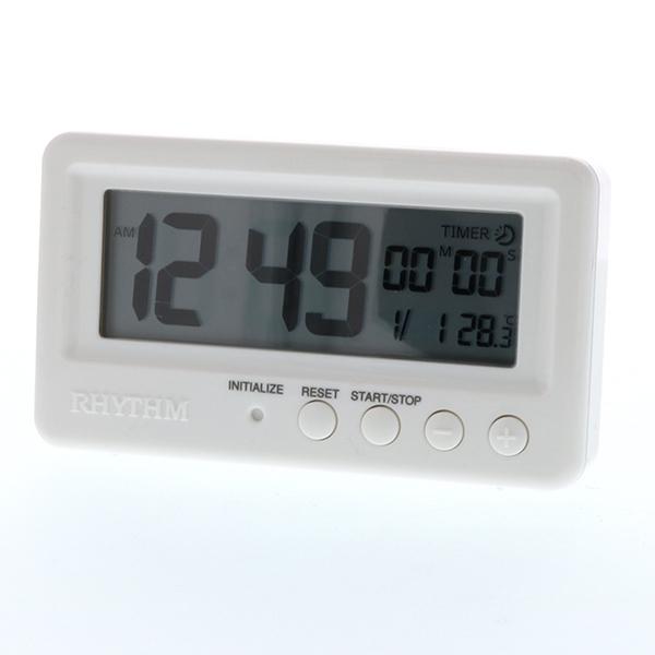 リズム デジタル時計 アクアプルーフ 8RDA72SR
