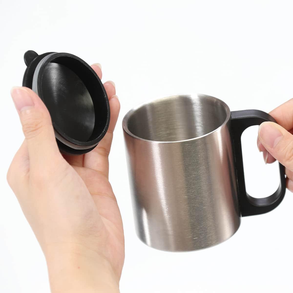 ステンレスマグ フタ付 マグカップ 190ml