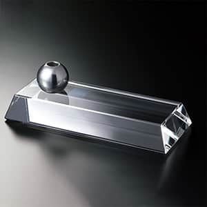 NARUMI グラスワークス リンク ペンスタンド 光学ガラス
