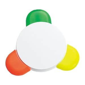 3色マーカーペン 丸型