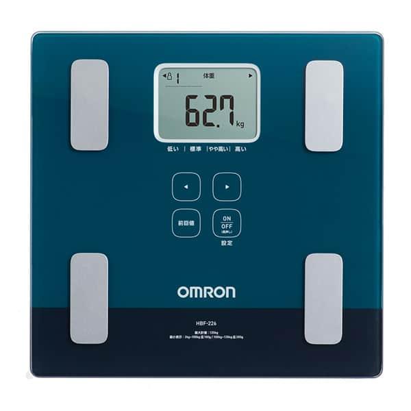 オムロン 体重体組成計 カラダスキャン 両足測定タイプ HBF-226