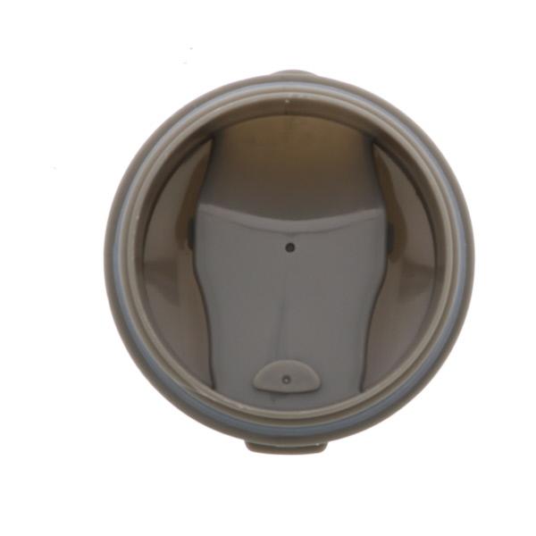ステンレス真空タンブラー シリコン蓋つき 保温保冷用 380ml