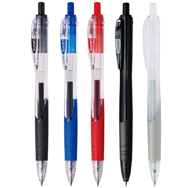 ゼブラ スラリ エマルジョンインクボールペン 0.7mm BN11
