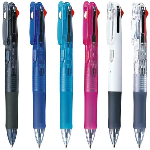 ゼブラ クリップ-オンG 4色油性ボールペン 0.7mm B4A3