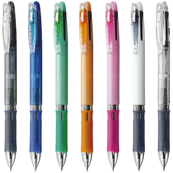 ゼブラ クリップ-オンスリム 3色油性ボールペン 0.7mm B3A5