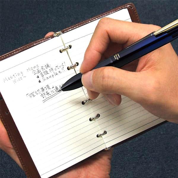ゼブラ クリップ-オン マルチ3000 4色ボールペン+シャープペン B4SA6