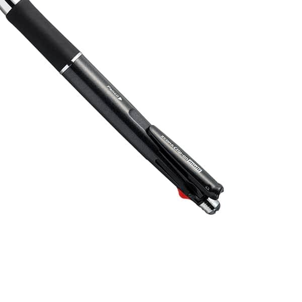 ゼブラ クリップ-オン マルチ1000 4色ボールペン+シャープペン B4SA2