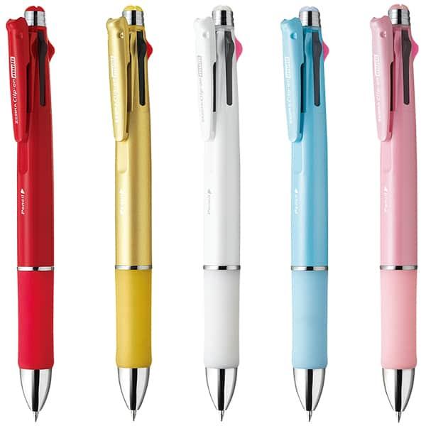 ゼブラ クリップ-オン マルチ1000 4色ボールペン+シャープペン B4SA3