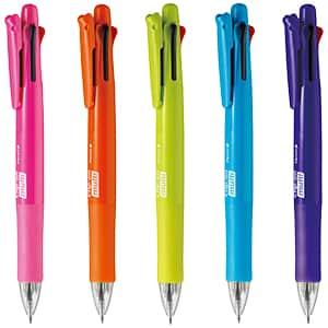 ゼブラ クリップ-オン マルチF 4色ボールペン+シャープペン B4SA1