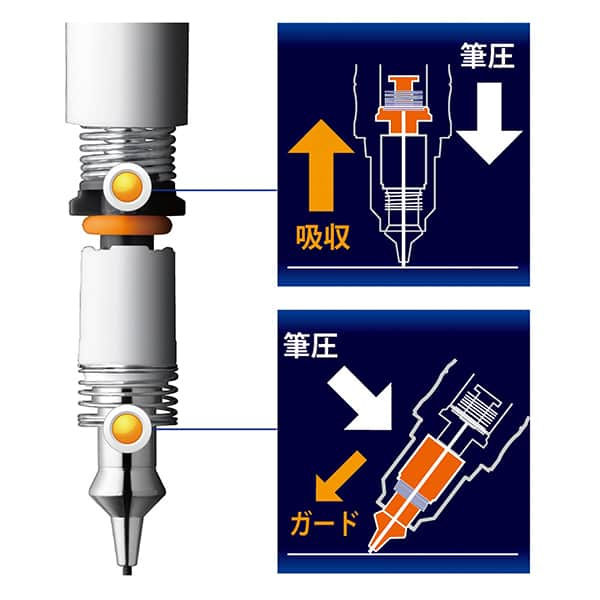 ゼブラ デルガード シャープペン 0.7mm P-MAB85