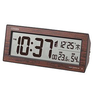 シチズン デジタル電波時計 暗所自動点灯機能付 8RZ195-023
