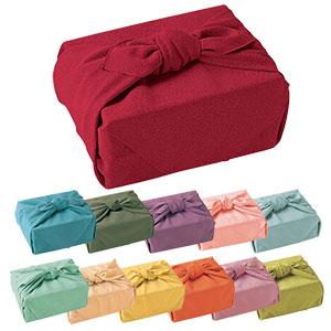 色がきれいなちりめん風呂敷 中巾