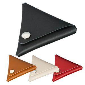 本革三角コインケース 4色展開