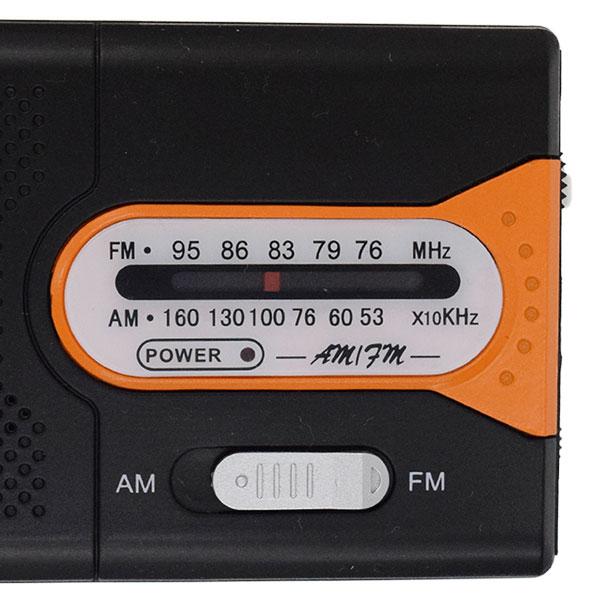 AM/FMポケットラジオ