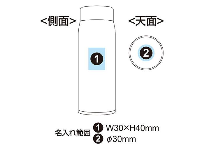 エアリスト ステンレス製 超軽量マグボトル 480ml