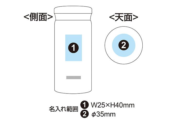 ピーコック ステンレスボトル マグタイプ 200ml AMA-20