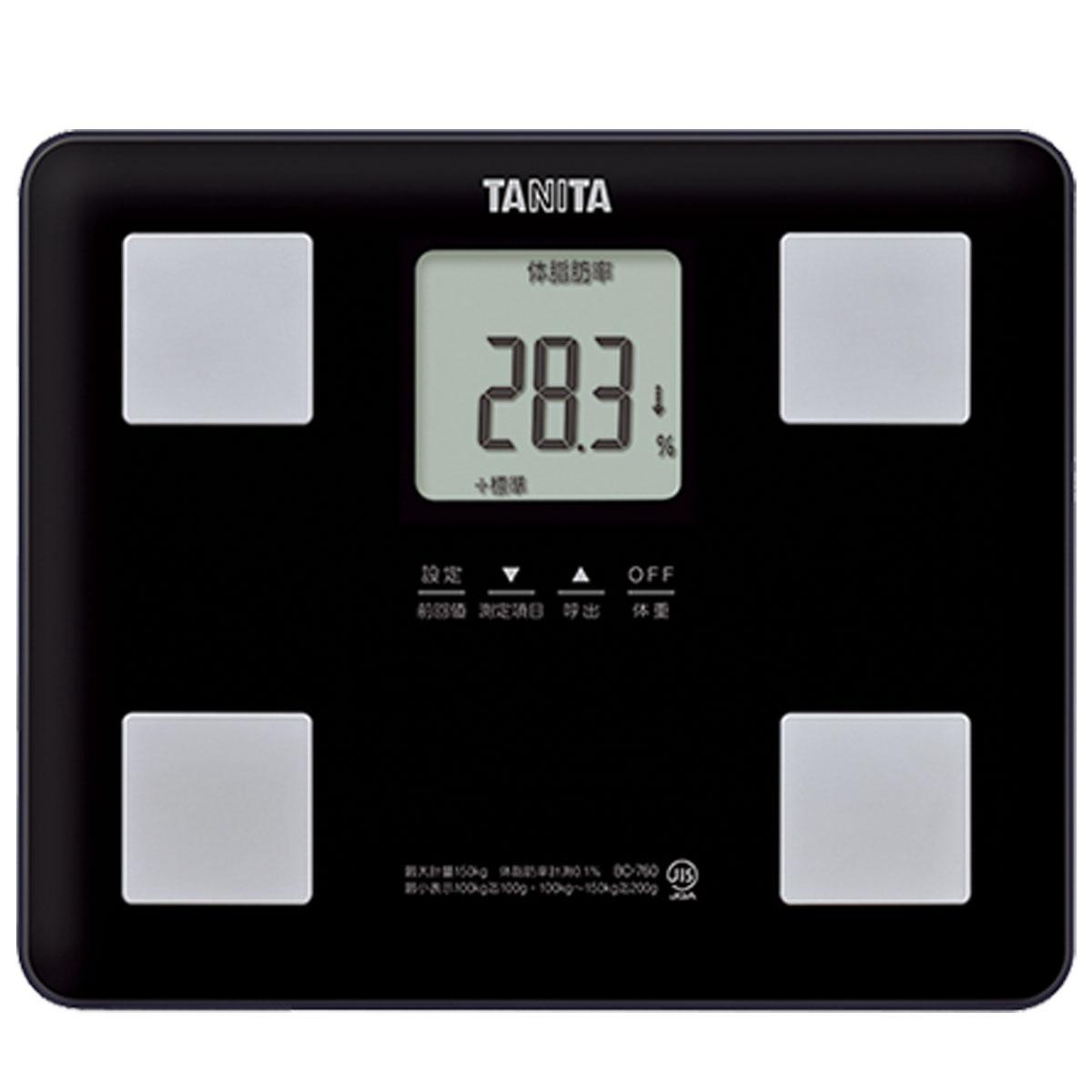 タニタ 体組成計 軽量コンパクト BC-760