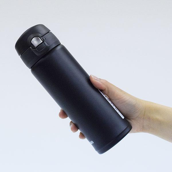 真空二重構造 ステンレスマグボトル ワンタッチ栓 500ml