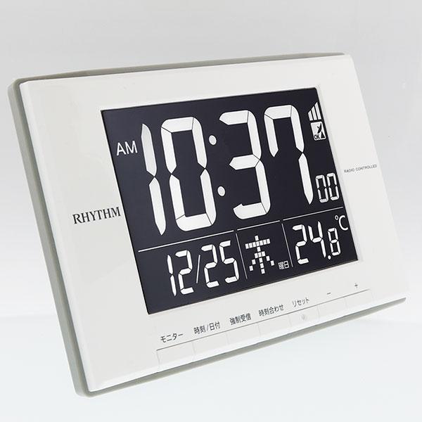 リズム時計 リズム ルーク デジットD209