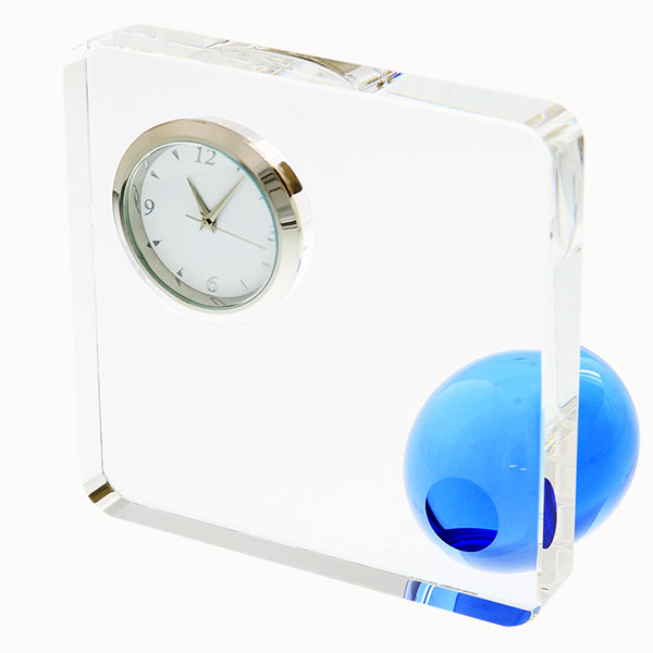 光学ガラス時計 スクエア&ボール