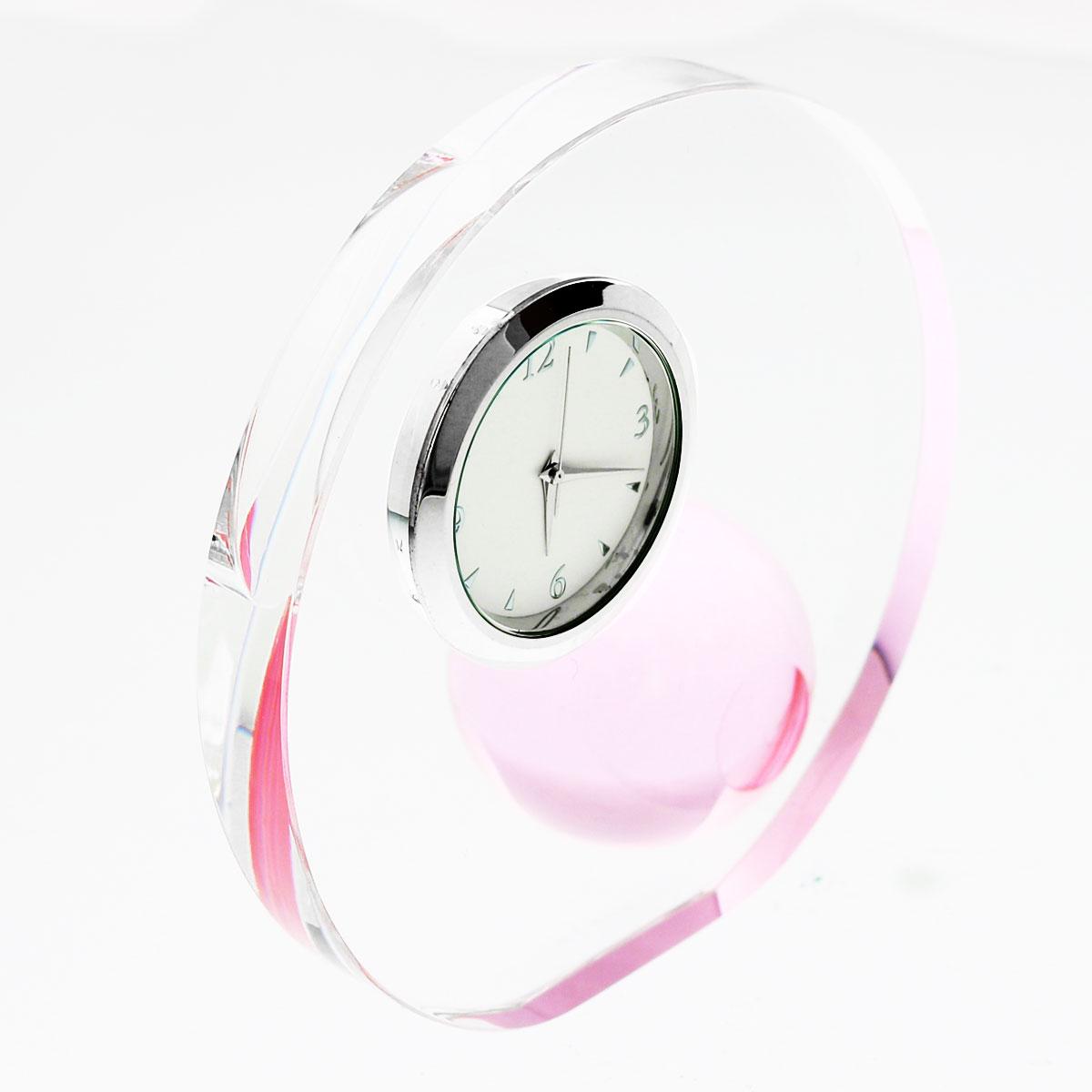 光学ガラス時計 ラウンド&ボール