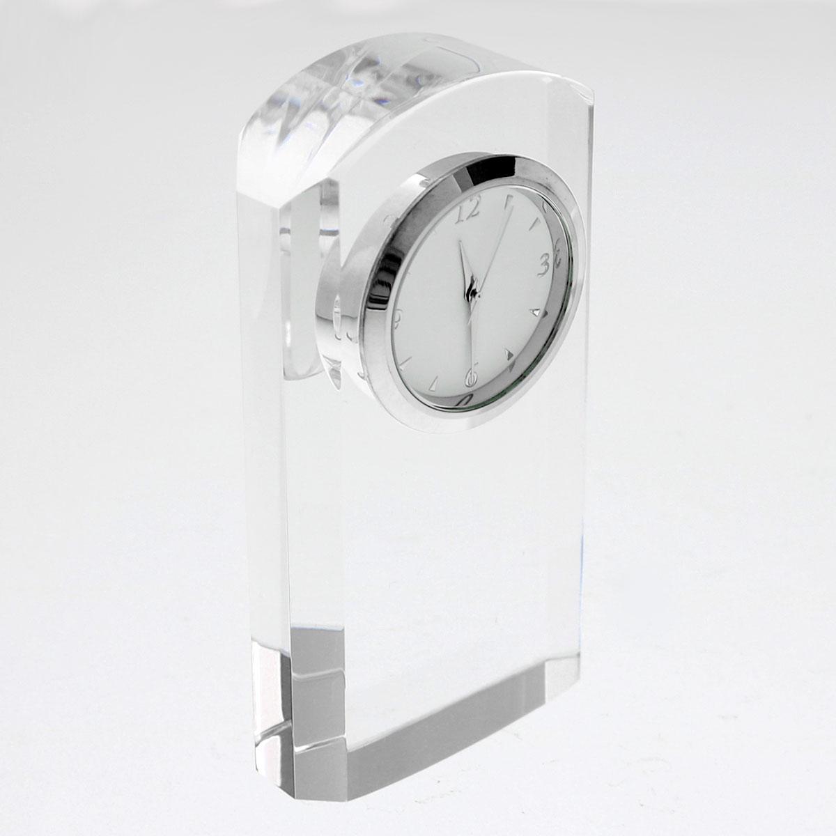 光学ガラス時計 スリムゲートクロック