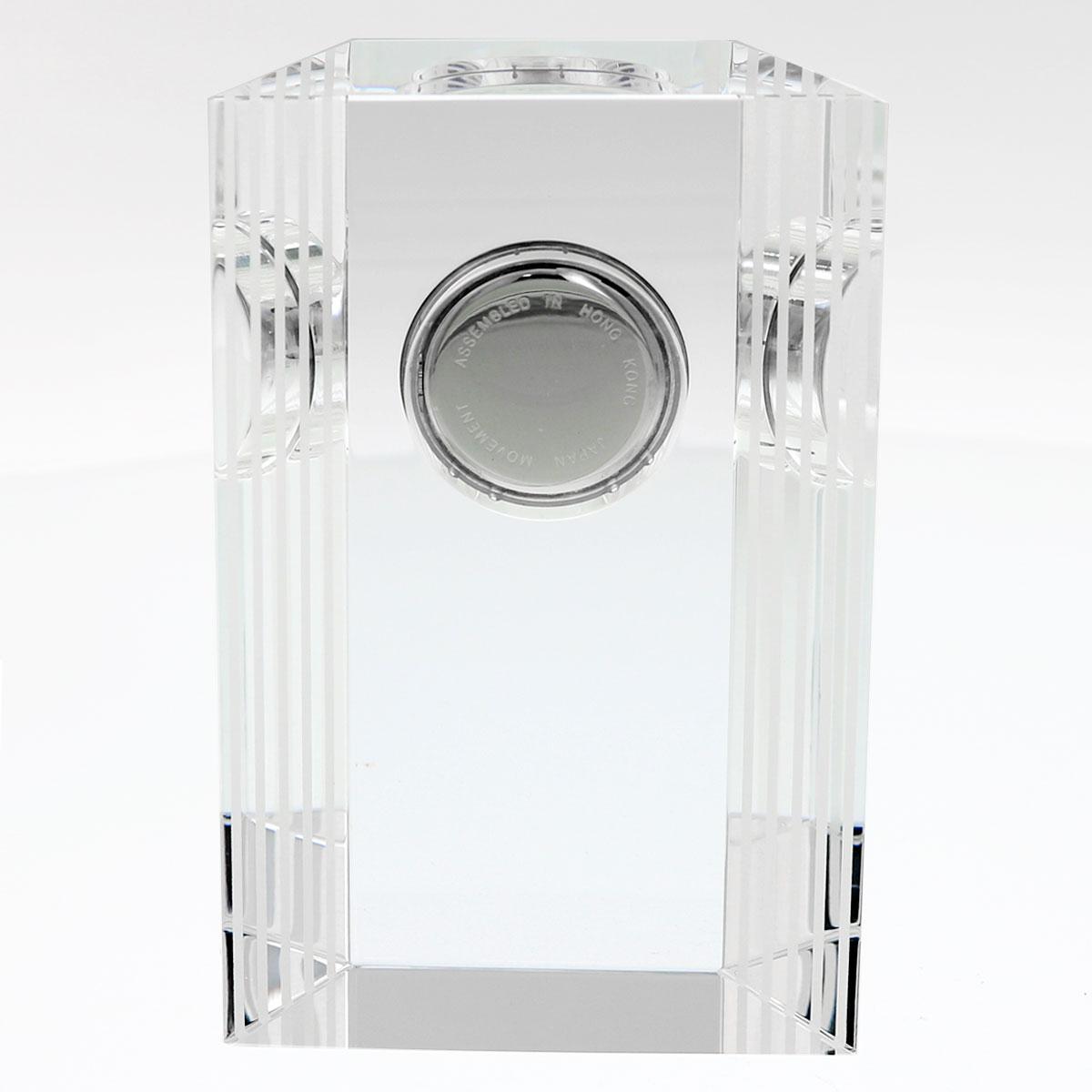 光学ガラス時計 クリアブロック・ネオ