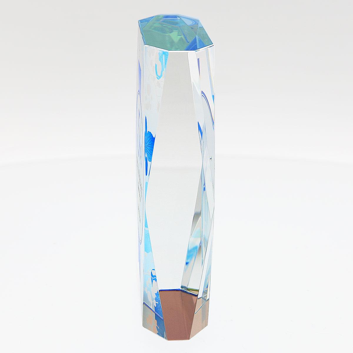 光学ガラス表彰盾 ハーバリウムシリーズ ダイヤモンド