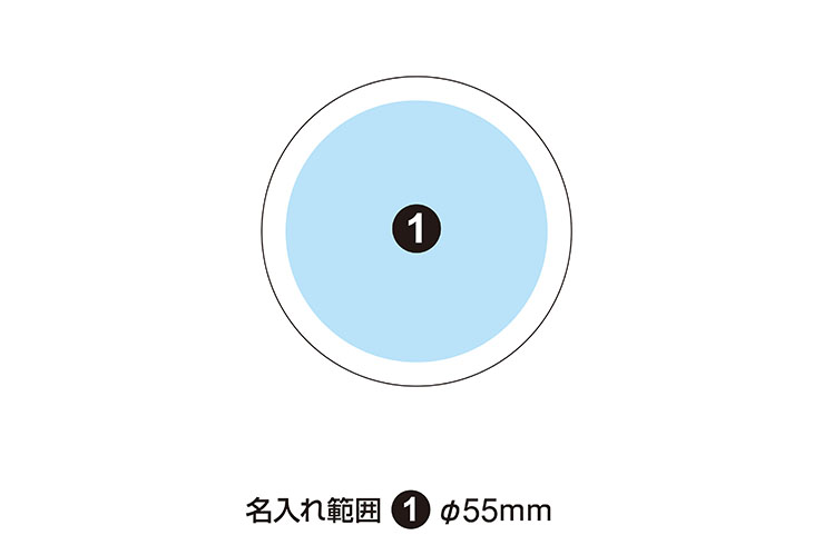 ルーペサークルペーパーウエイト 65mm