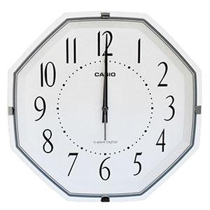 カシオ スタンダード電波掛時計 IQ-1007J