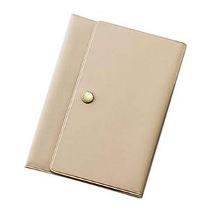 年金手帳ケース 3つ折りタイプ ジッパーポケット2個付き
