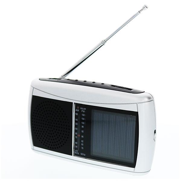 ソーラーラジオ ワイドFM対応