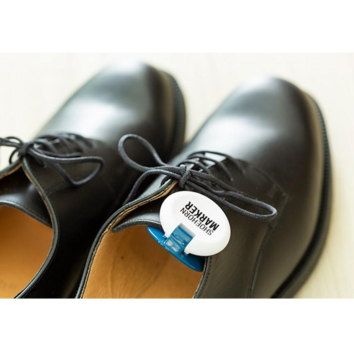 シューズマーカー付き靴ベラ シューホーンマーカー