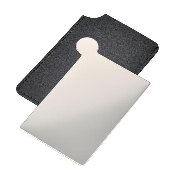 カード型ステンレスミラー