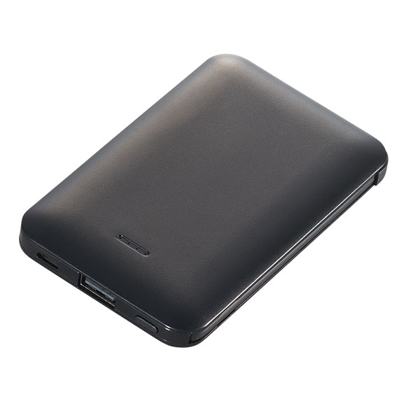 モバイルバッテリー 5000mAh PSEマーク付 2台充電対応