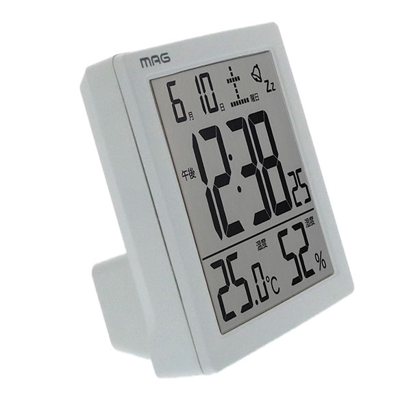デジタル目覚まし時計 電子音アラーム付き