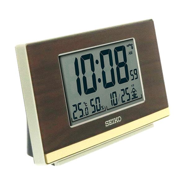 セイコークロック 電波目覚まし時計 SQ793