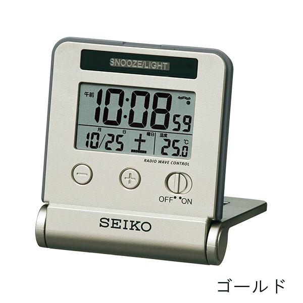 セイコークロック 電波目覚まし時計 SQ772W