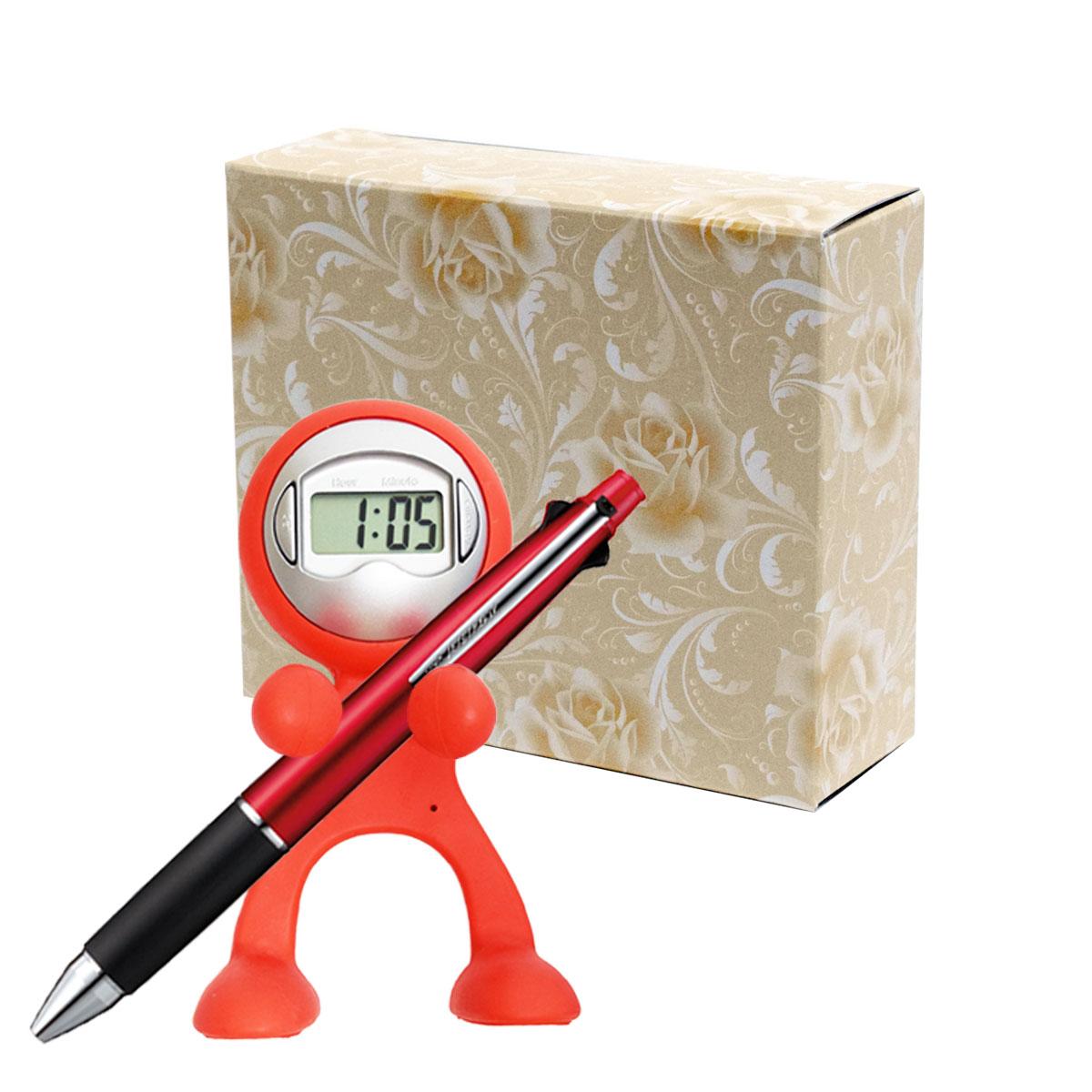 クロックレンジャー 三菱鉛筆 ジェットストリーム 5機能ペンセット 包装箱入り