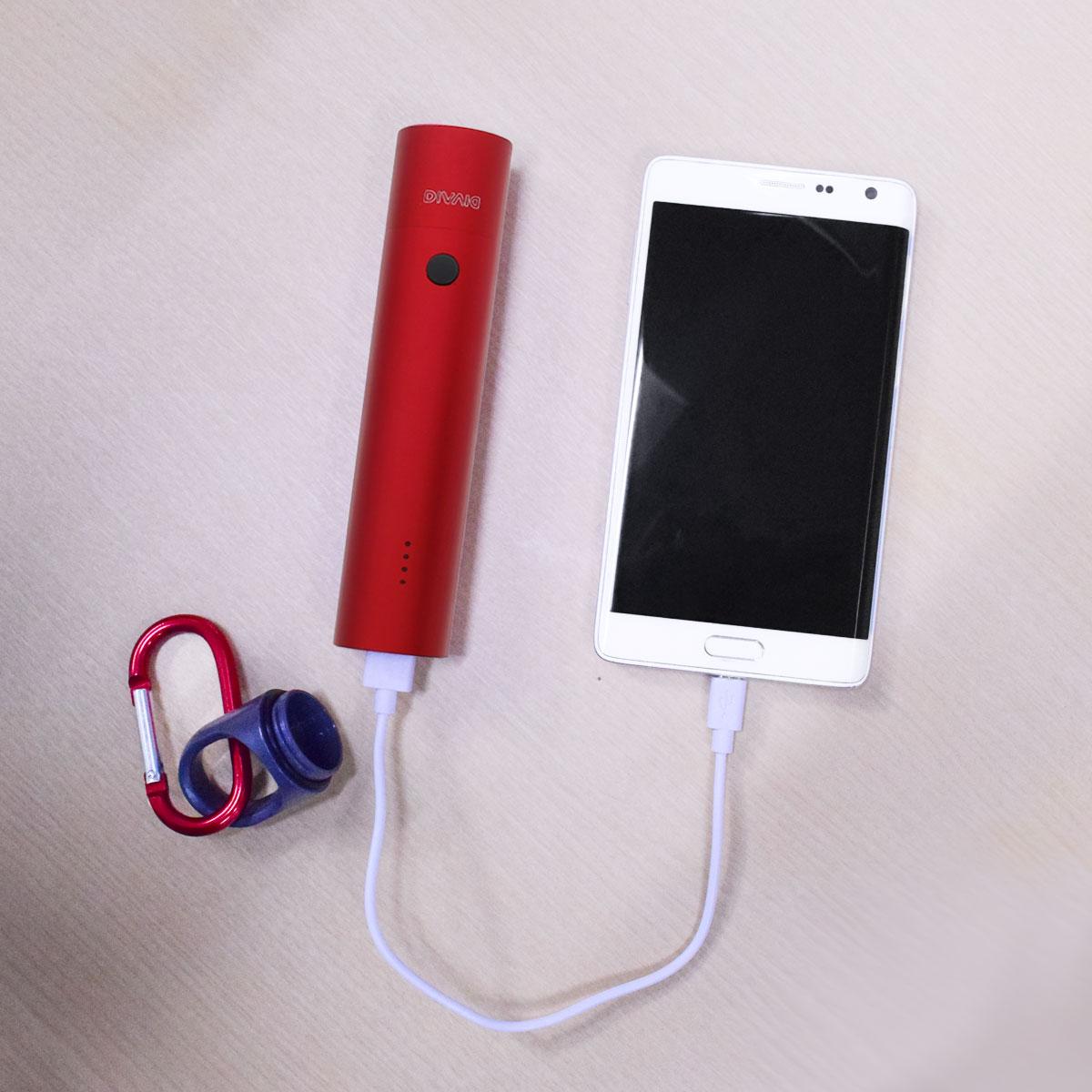 防水モバイルバッテリー5,000mAh