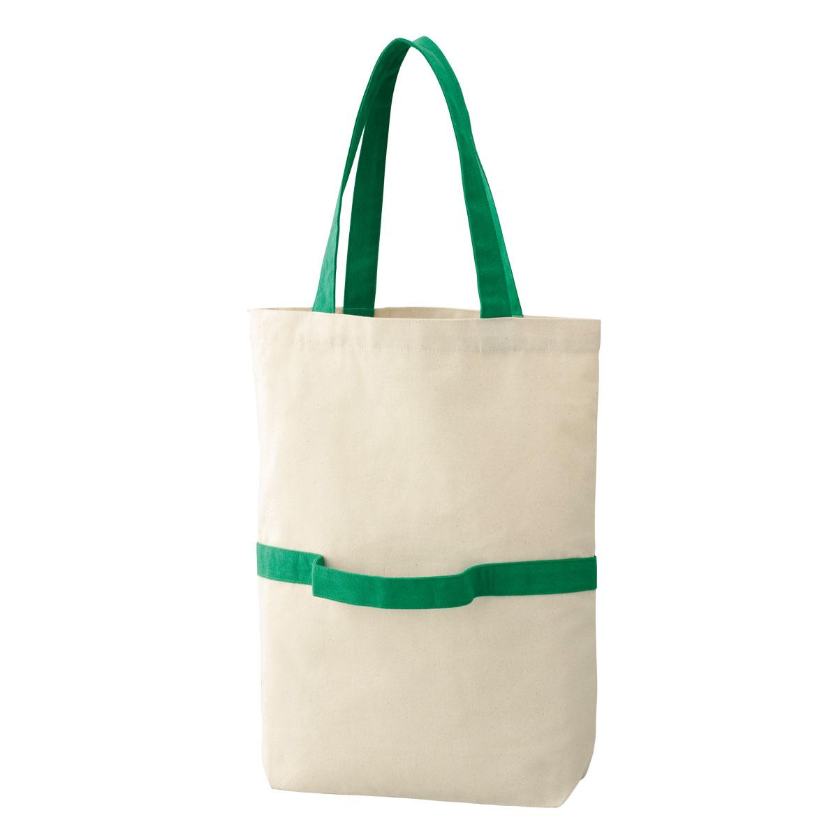 2WAY リサイクルコットントートバッグ