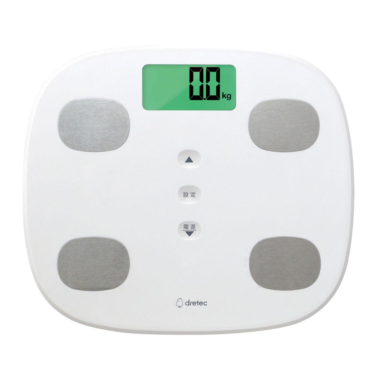 dretec(ドリテック)体重体組成計 レイズ BS-246