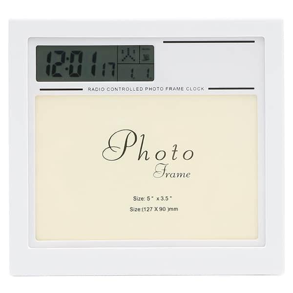 フォトフレーム電波時計 サービスサイズ対応