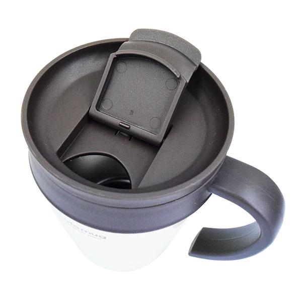 パール金属 V&S 真空蓋付ストレートマグカップ 330ml