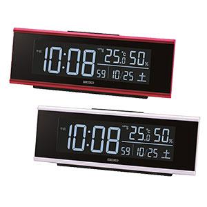 セイコークロック グラデーション機能付き電波時計 DL307