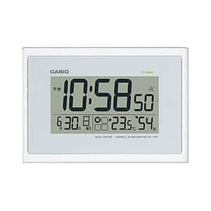 カシオ 生活環境お知らせ時計 電波時計 IDL-100J-7JF