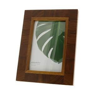 木製フォトフレーム ポストカードサイズ チーク材