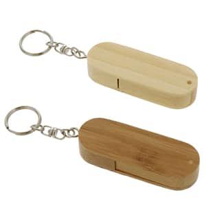 【受注生産】バンブー(竹製)USBメモリ 4GB