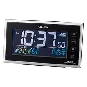 シチズン デジタル電波時計 パルデジットネオン121